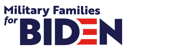 Military families for Biden